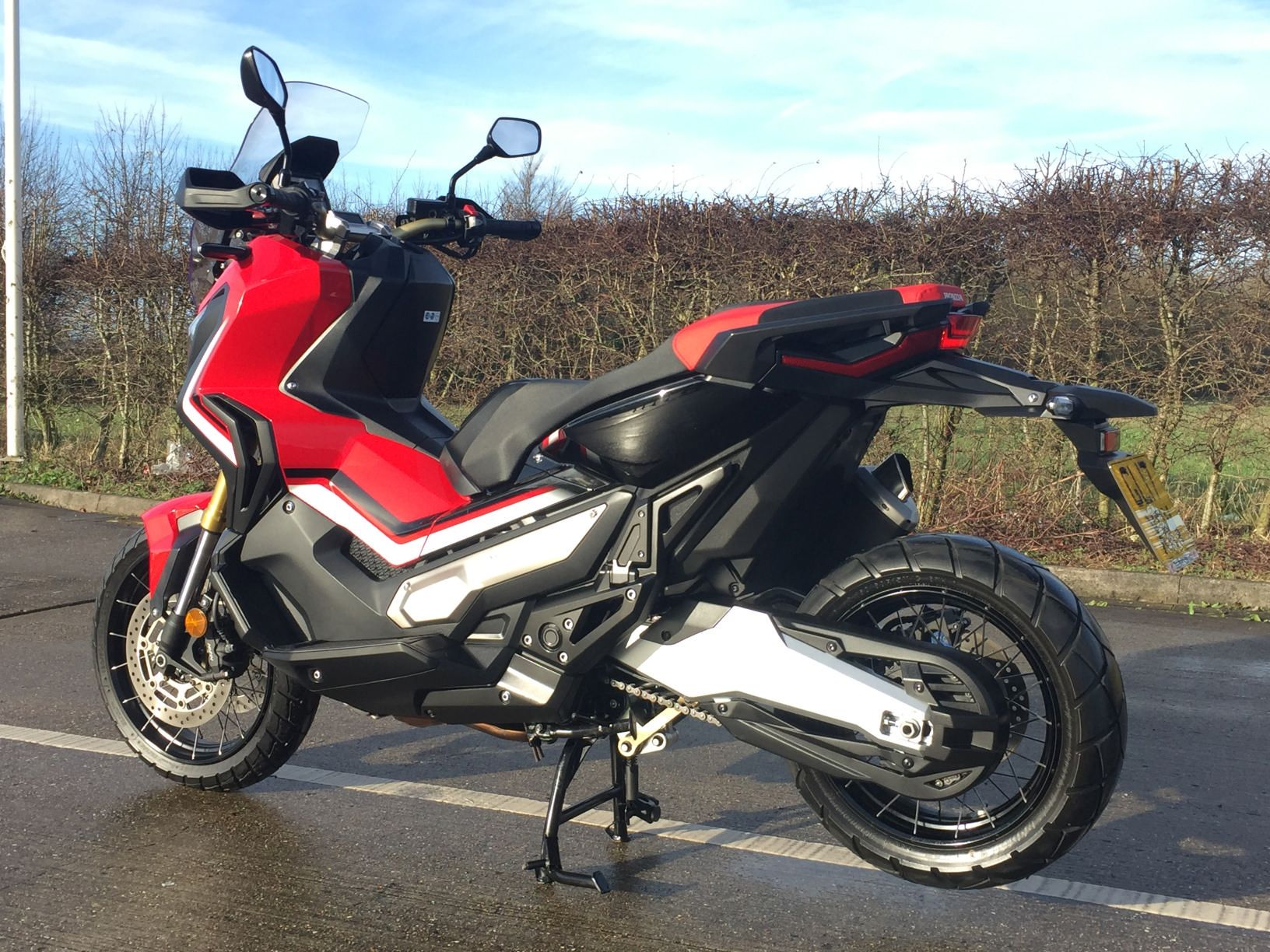 used honda adv 750 h available for sale red 2192 miles honda used motorcycles. Black Bedroom Furniture Sets. Home Design Ideas